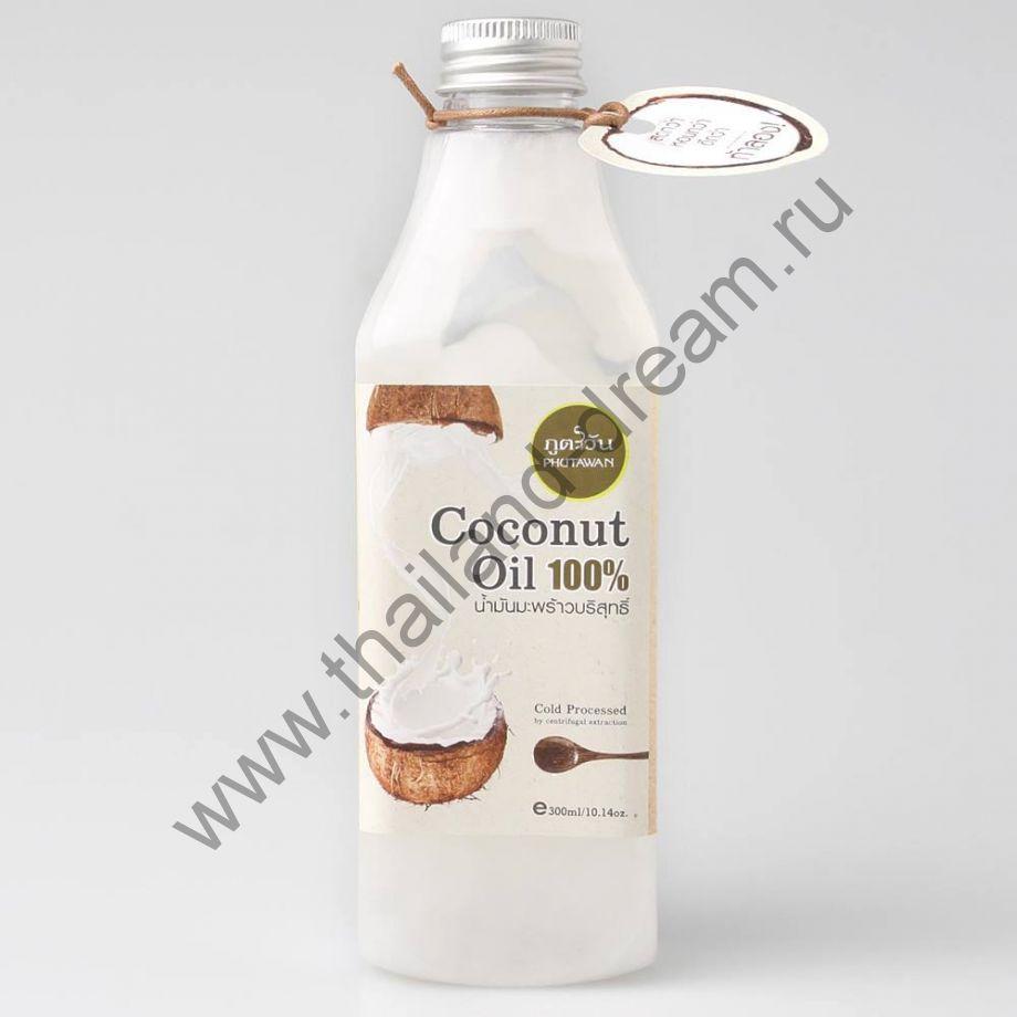 Кокосовое масло холодного отжима Phutawan 300мл
